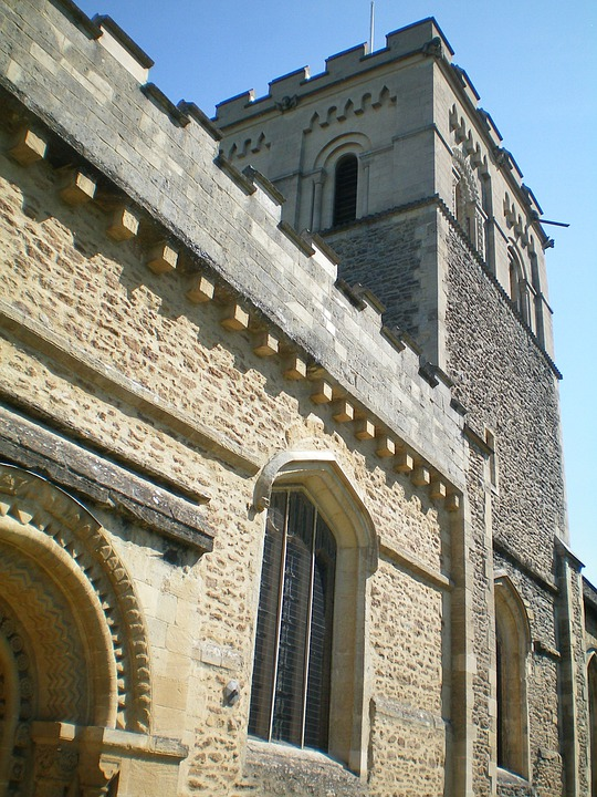 Oxford, England, Church, Building, Architecture