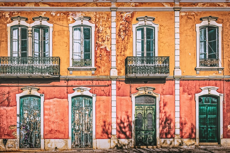 Architecture, Building, Old, Window, Facade, House