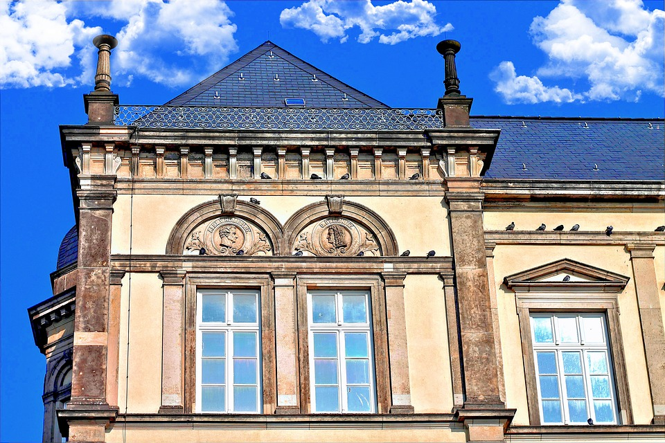 Architecture, Home, Ornaments, Old, Building, Facade