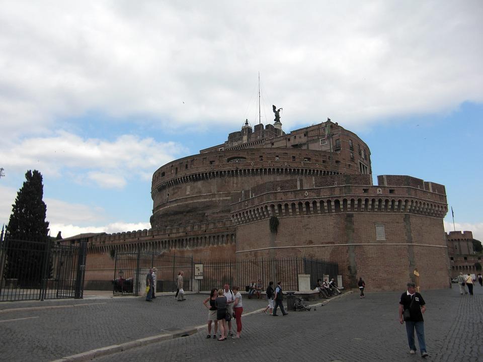 Rome, Italy, Building, Architecture, Romans