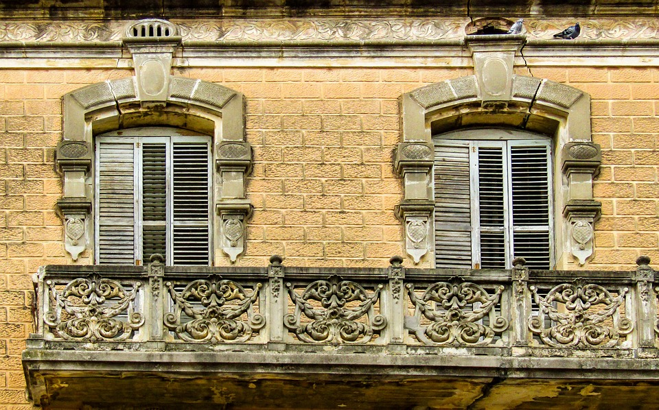 Balcony, Window, Old, Building, Architecture, House