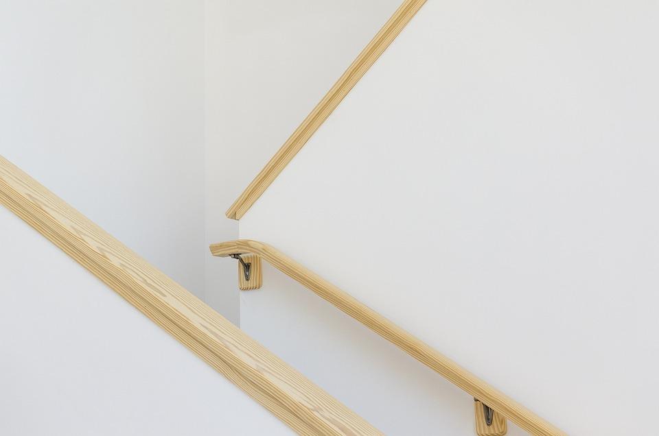 Wooden, Hand Rail, Architecture, Building