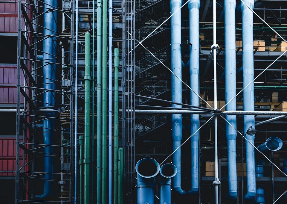 Architecture, Building, Business, Connection