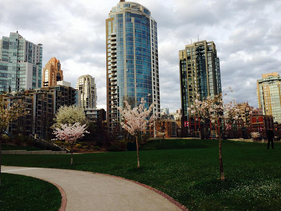 Vancouver, City, Architecture, Canada, Waterfront
