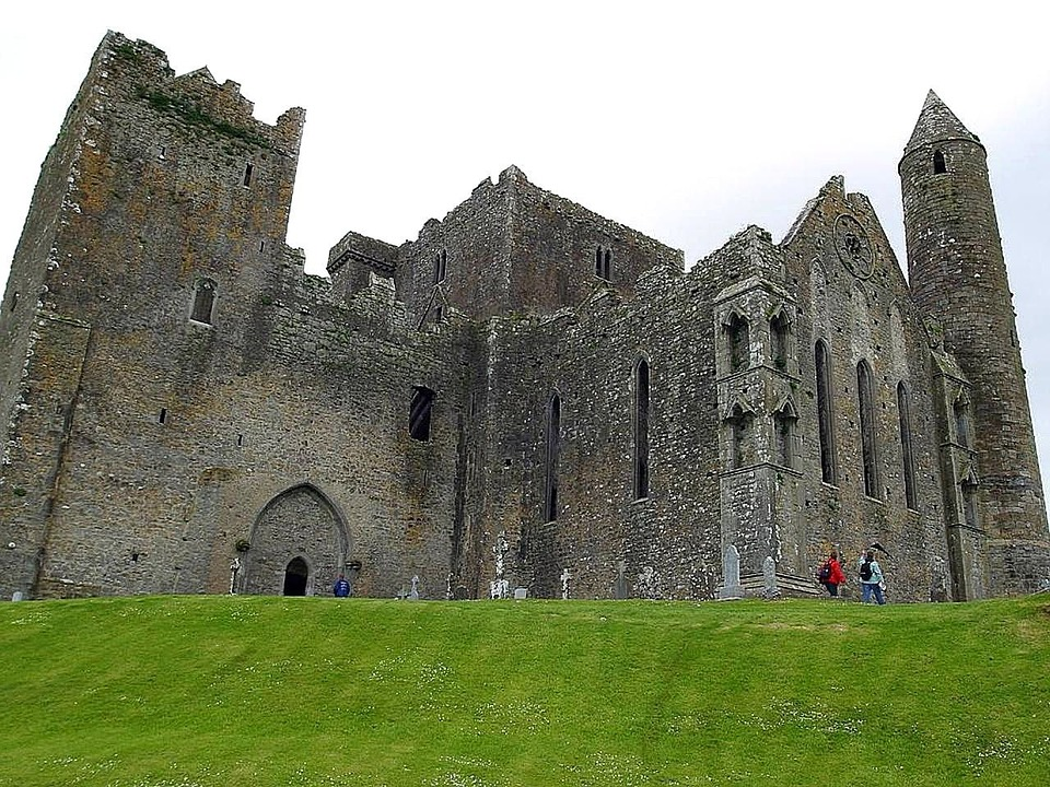 Towers, Round, Ruins, Cashel, Castles, Architecture