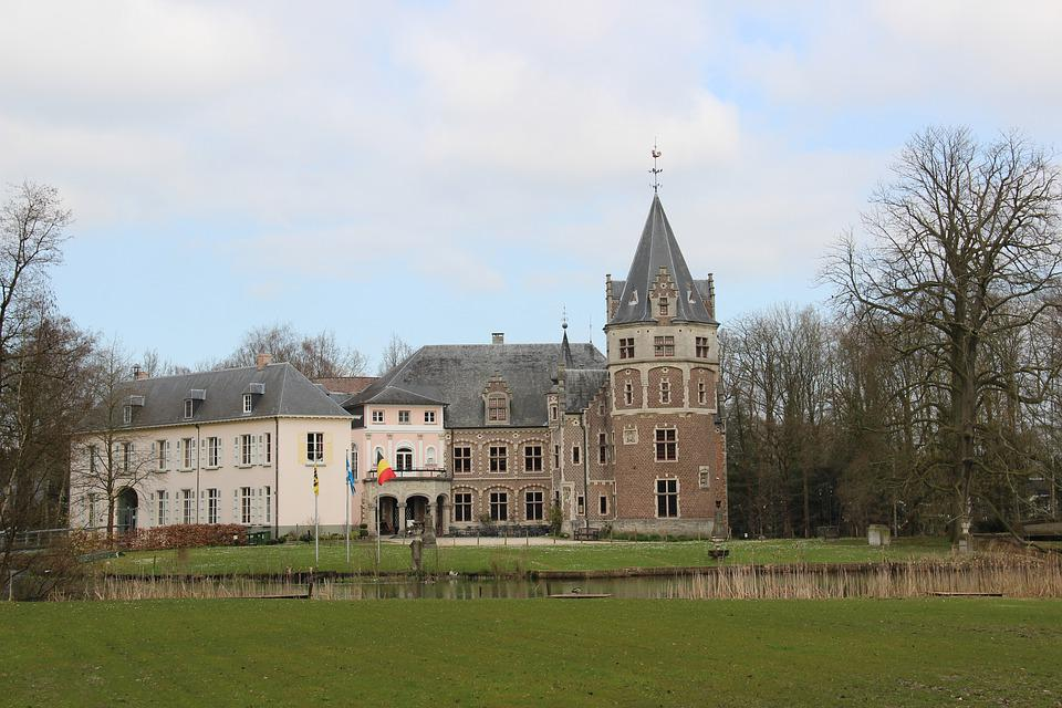 Castle, Belgium, Architecture, Building, Old, Tower