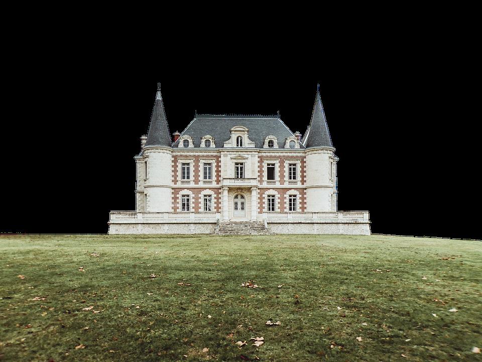 Architecture, Castle, Lawn, Towers, Building