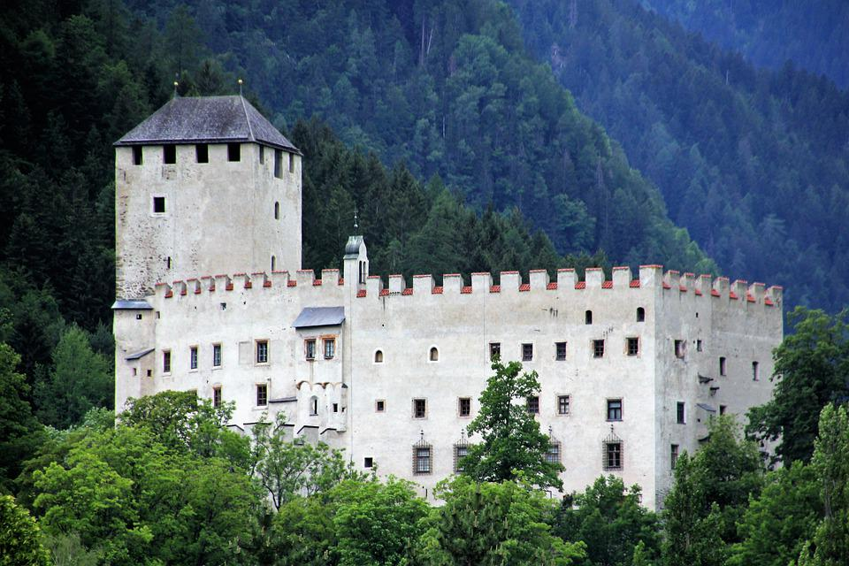 Castle, Fortress, Middle Ages, Architecture, Wall