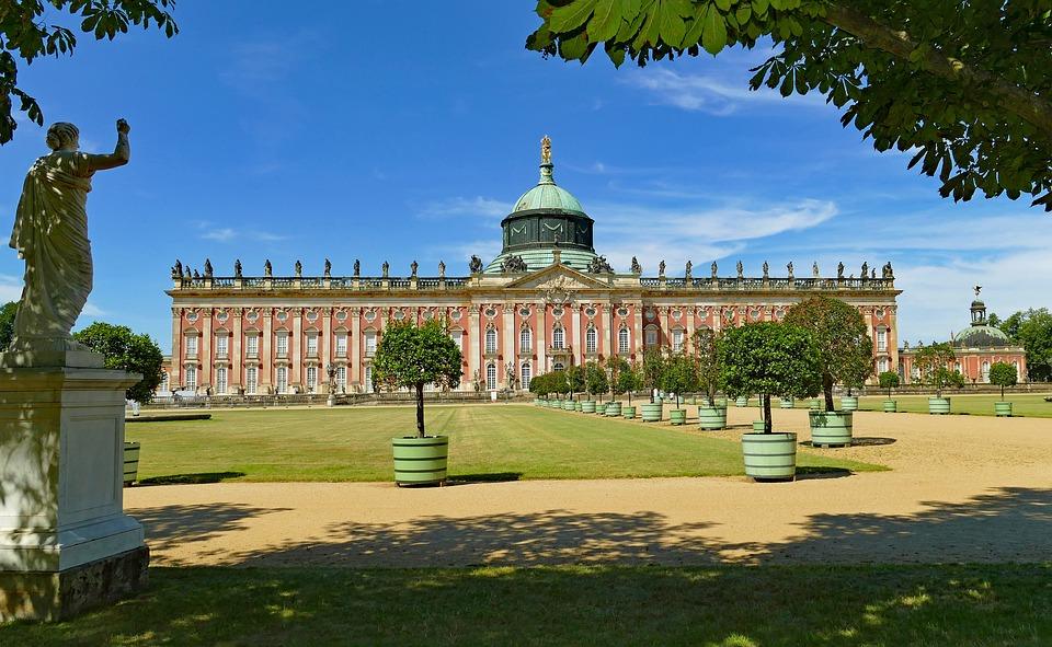 Potsdam, Castle, New Palais, Architecture