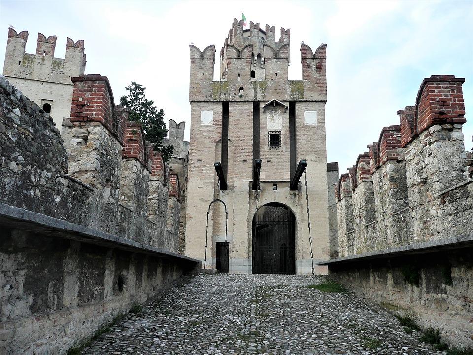Architecture, Gothic, Palazzo, Old, Stone's, Castle