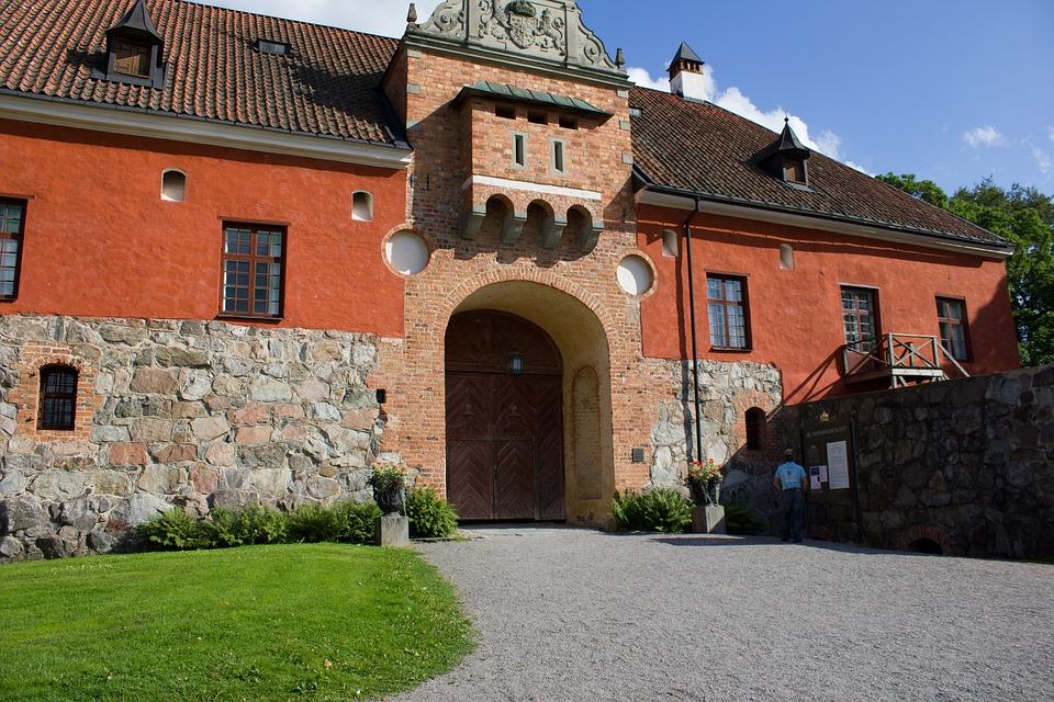 Castle, Building, Architecture, Outdoor, Sweden