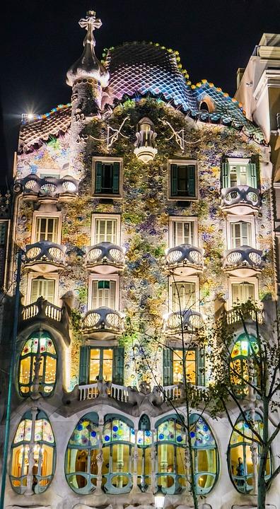 Gaudi Barcelona Spain Architecture Catalonia