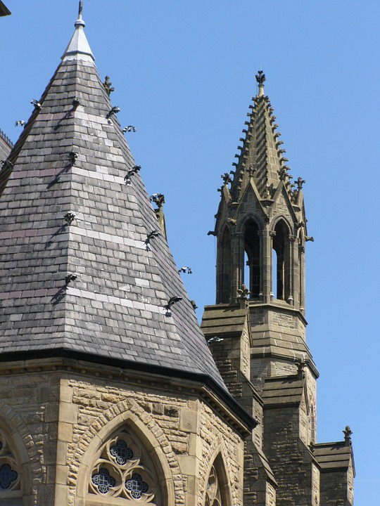 Church, Gothic, Cathedral, Architecture, Building