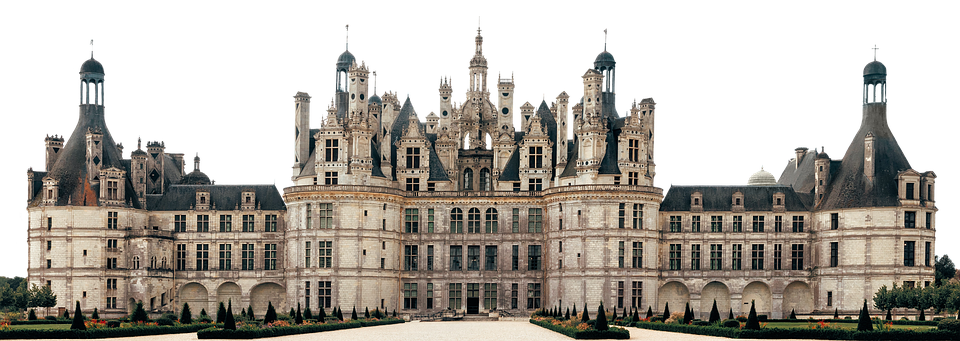 Palace, Architecture, Château De Chambord, Towers