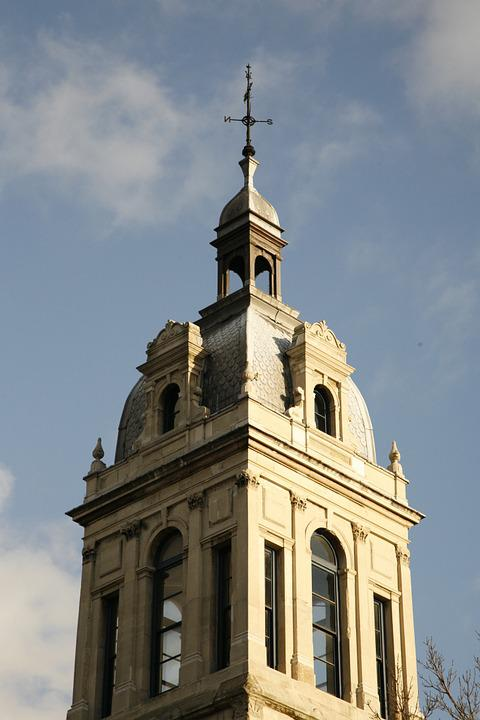 Church, Steeple, Architecture, Religion, Building