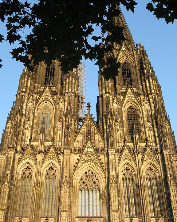 Cathedral, Towers, Germany, Architecture, Church
