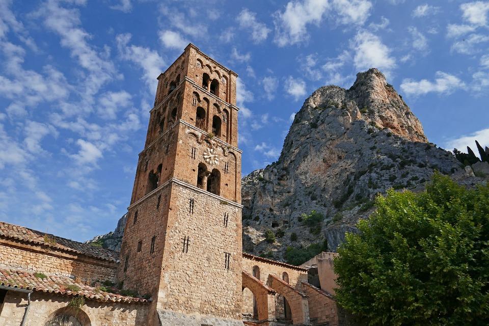 Church, Architecture, France, Moustiers-sainte-marie