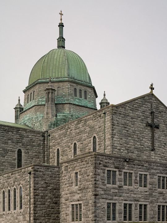 Galway, Cathedral, Ireland, Architecture, Church, Irish
