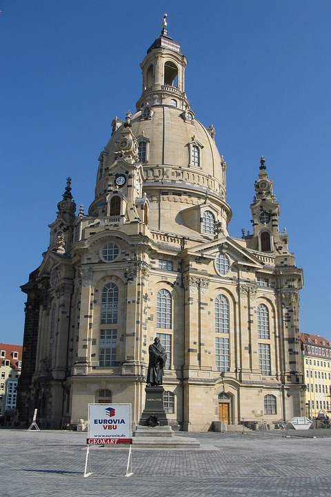 Dresden, Architecture Church Of Our Lady, Church