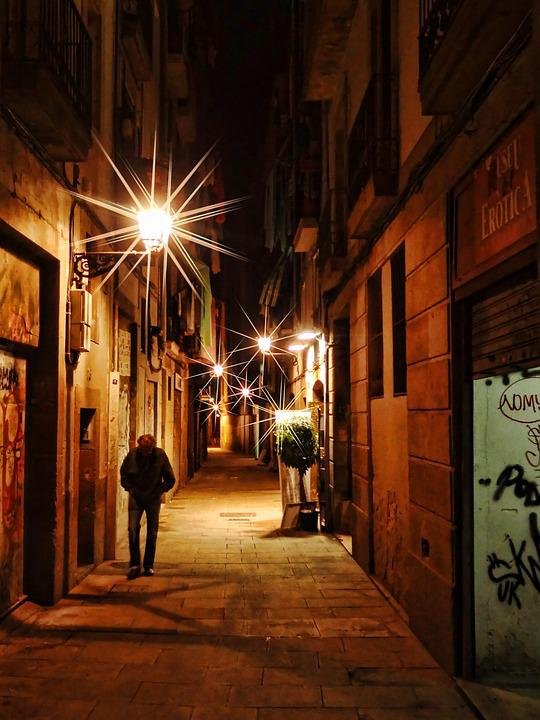 Road, Architecture, City, Building, Home, Spain, Alley