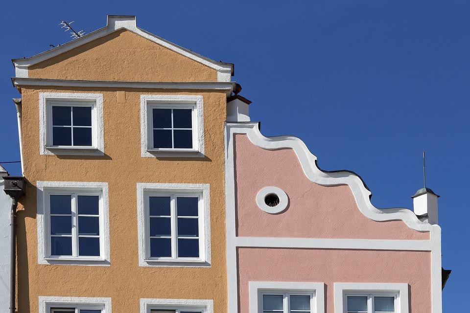 Facade, House, Architecture, Building, City