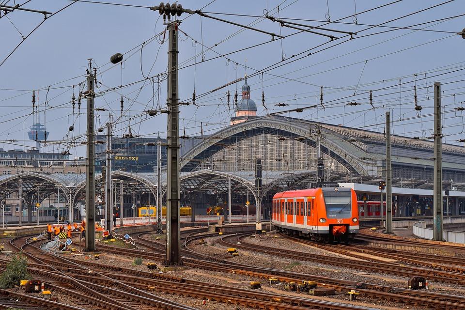 Architecture, Railway Station, Train, Building, City
