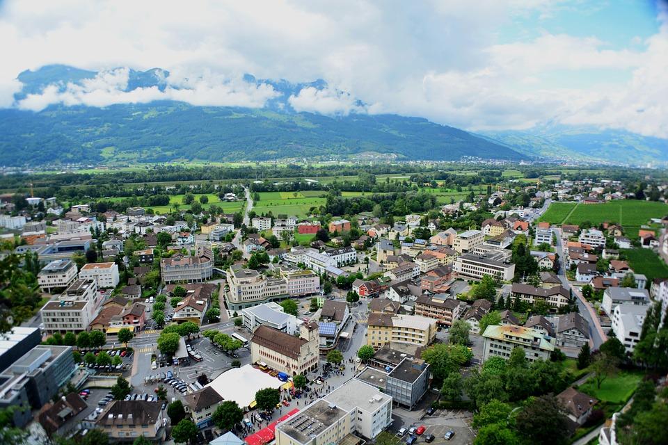 Liechtenstein, City, Architecture, Buildings