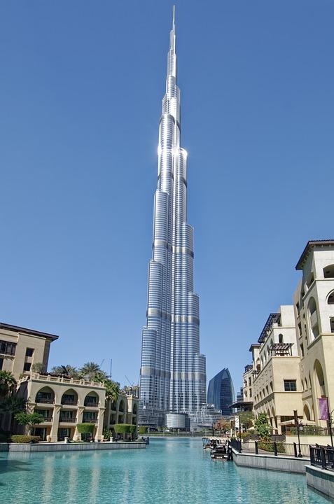 U A E, Dubai, City, Burj Khalifa, Architecture