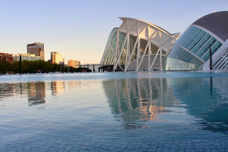 Spain, Architecture, Valencia, Construction, City