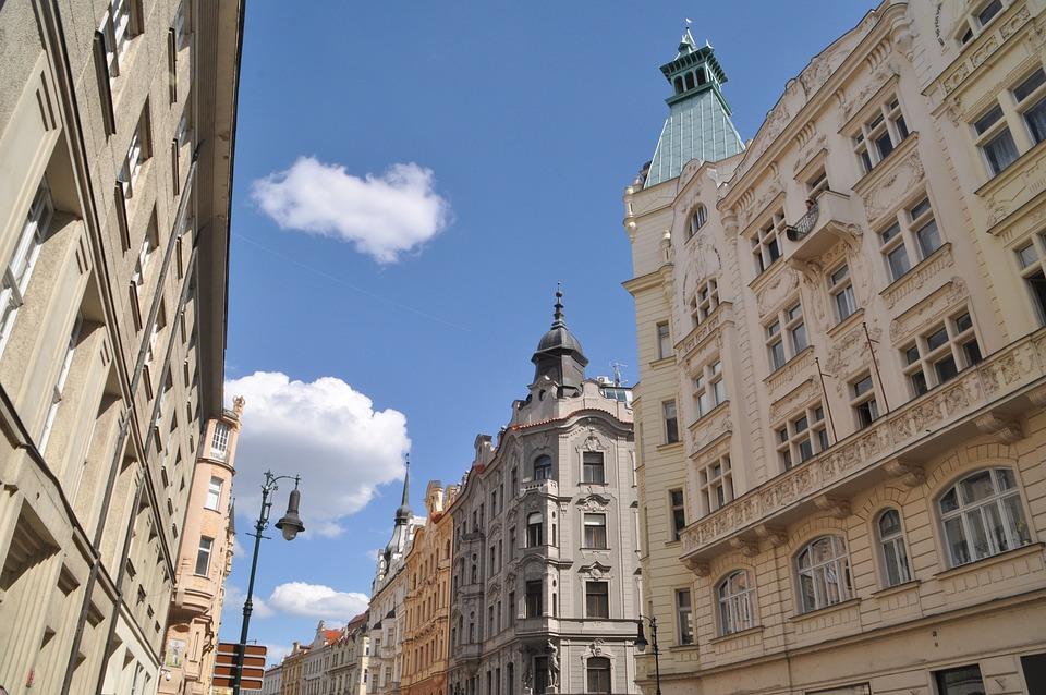 Free Photo Architecture City House Facade Art Nouveau Prague