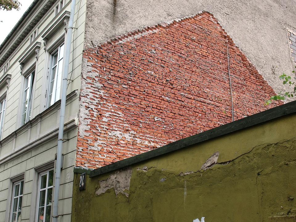 Klaipeda, Lithuania, Brick, City, House, Architecture