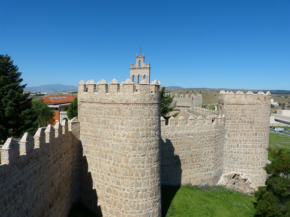 Monument, Avila, Architecture, Facade, City