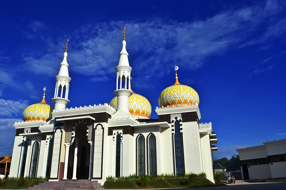 Mosque, City Mosque, Architecture, Muslim Mosque