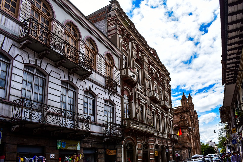 Cuenca Ecuador, Architecture, City, Street, Building