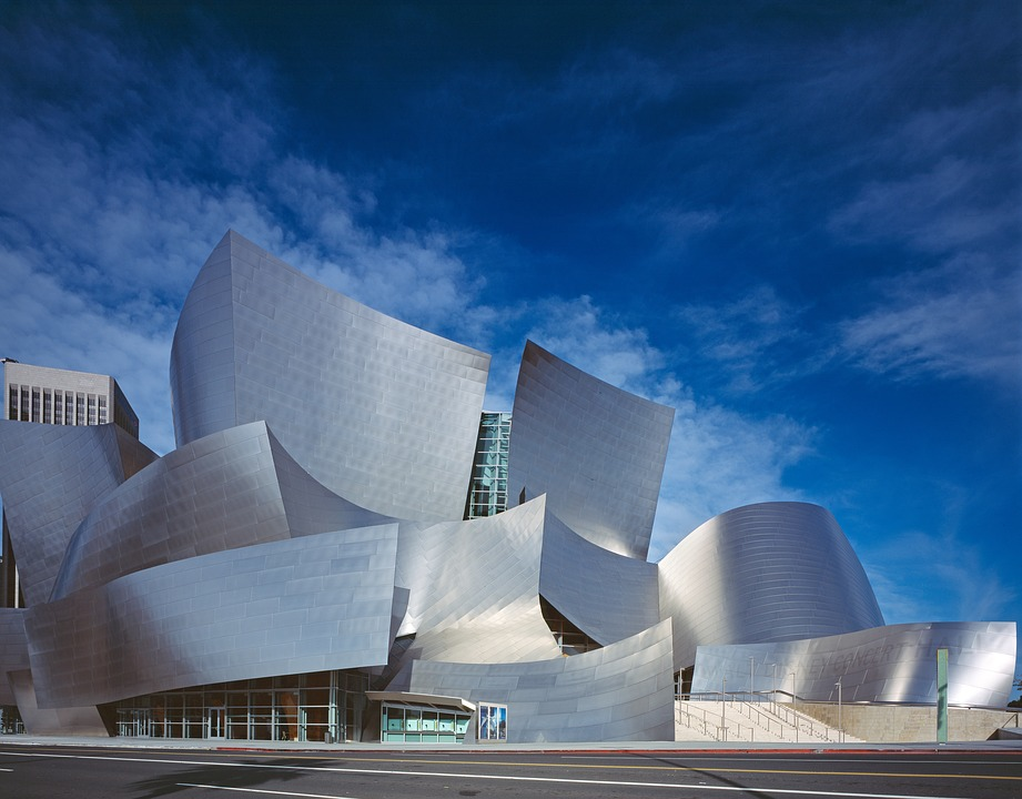 Walt Disney Center, Concert Hall, Hall, Architecture