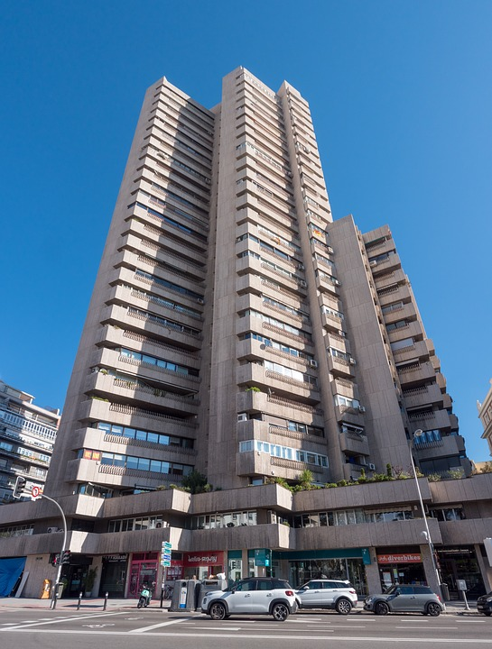 Tower, Concrete, Architecture, Plug, Madrid, Colon