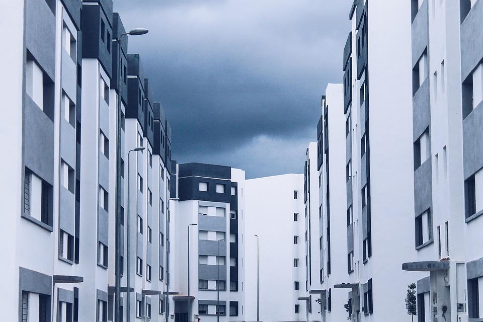 Architecture, Construction, Economic Housing, City