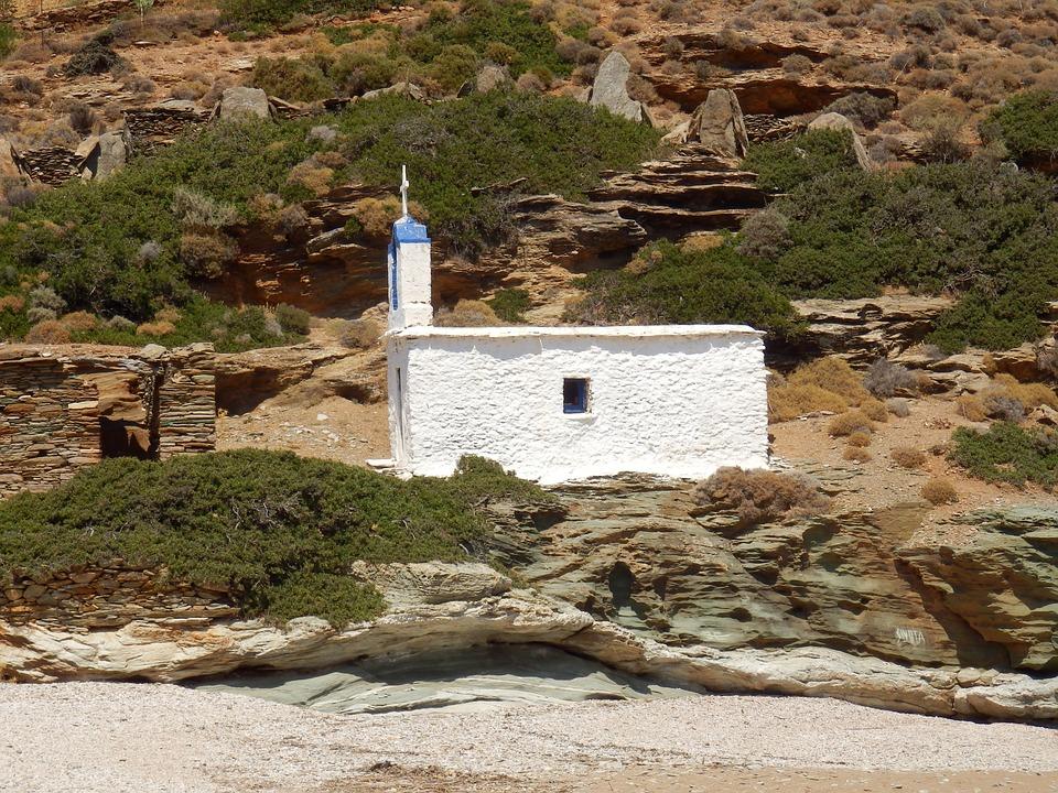 Church, Architecture, Greek Islands, Greece, Cyclades