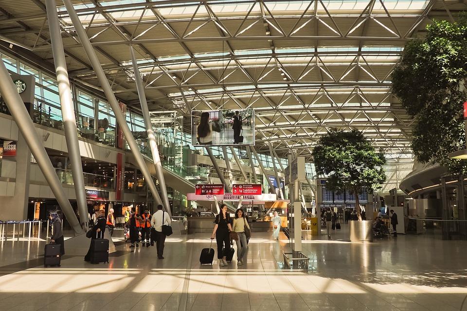 Architecture, Airport, Terminal, Departure, Travel