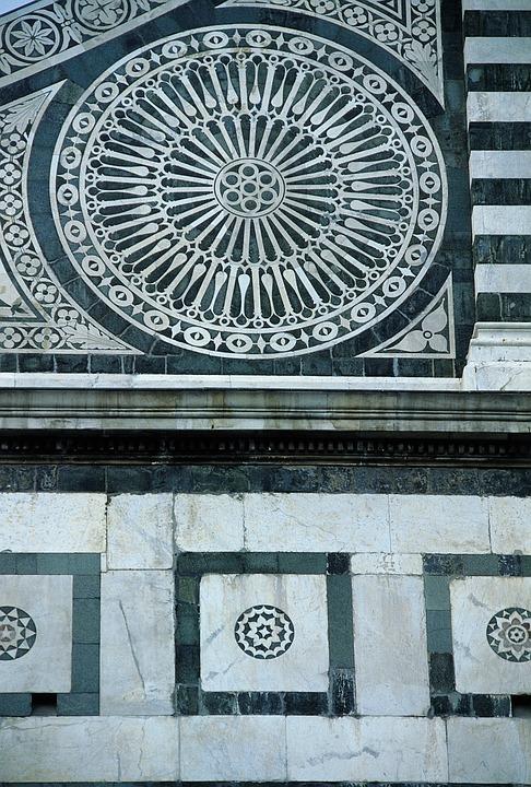 Facade, District, Square, Rosette, Italy, Architecture