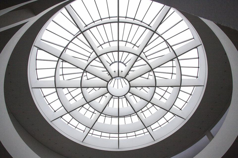 Art Gallery, Dome Light, Architecture, Entrance Hall