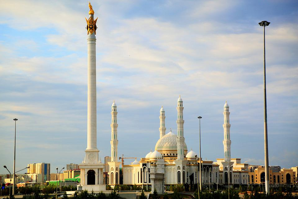 Cami, Architecture, Minaret, Dome, Monument, City