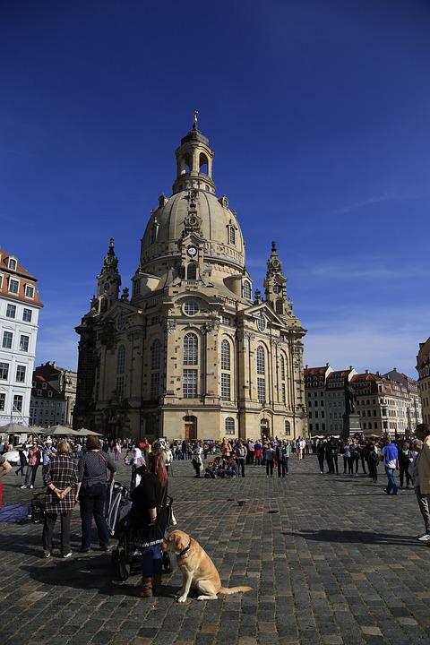Dresden, Germany, Frauenkirche, Saxony, Architecture