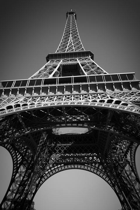 Eiffel Tower, Paris, Architecture, Landmark