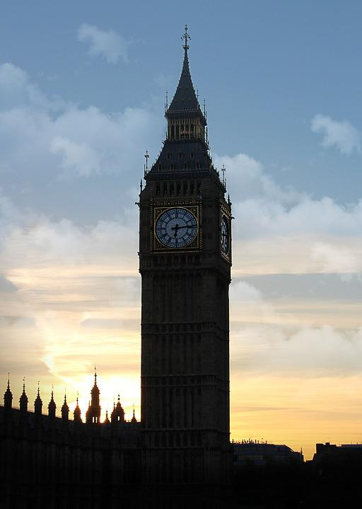 England, London, Sky, Architecture, Tower, Clouds