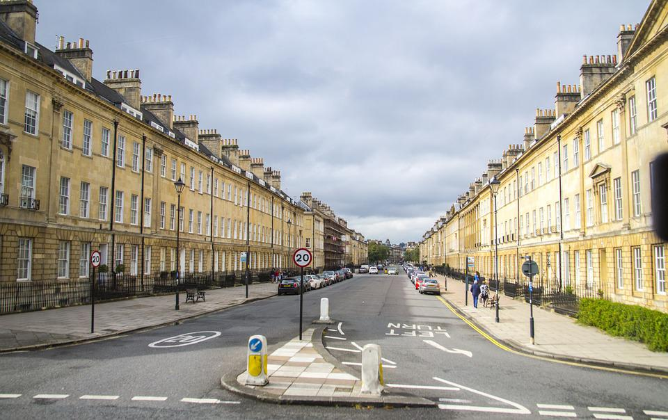 Bath, Uk, England, Architecture, Tourism, Britain, City