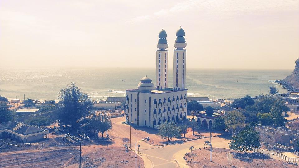 Fisherman Mosque, Dakar, Senegal, Architecture