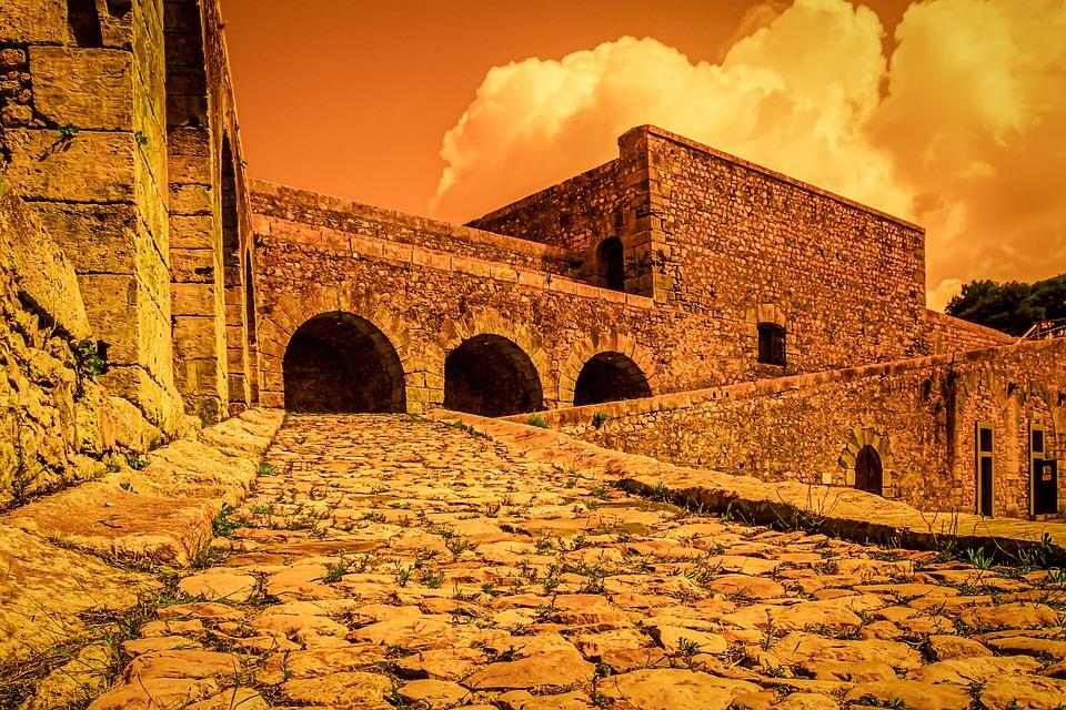 Fortress, Building, Castle, Middle Ages, Architecture