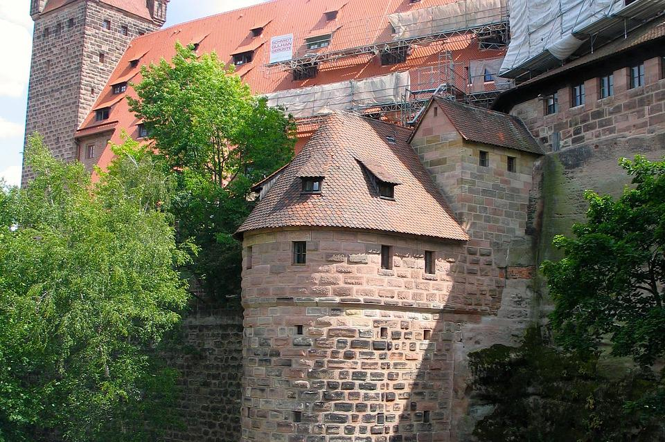 Bamberg, Castle, Europe, Germany, Architecture, Old