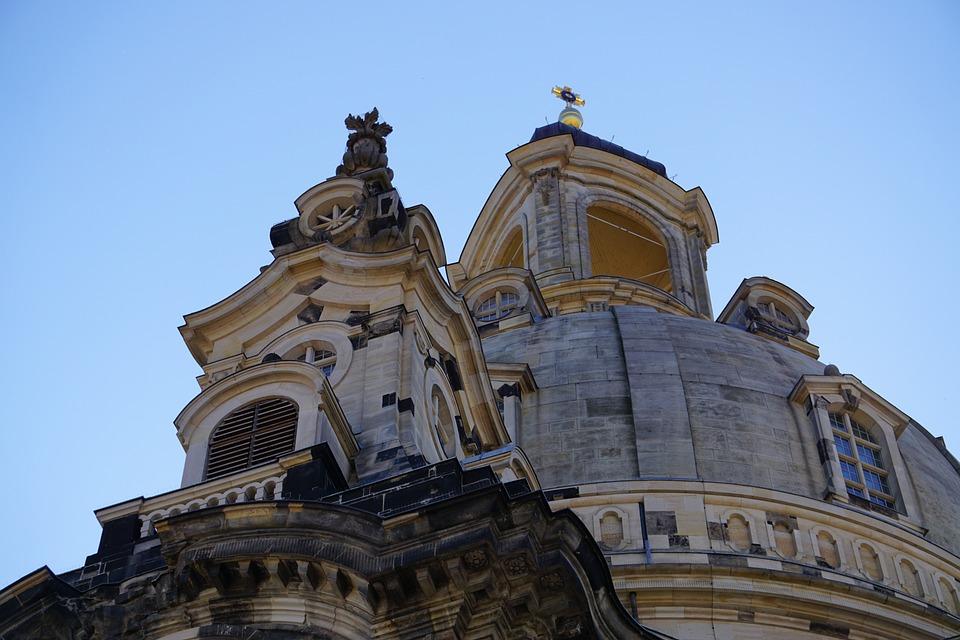 Dresden, Church, Germany, Saxony, Architecture